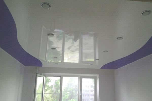Криволинейный в комнате, 15м2