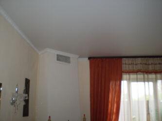 Тканевый потолок- это идеальное решение для загородных домов с различными перепадами температур