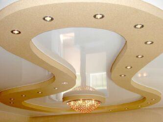 светильники-для-двухуровневого-натяжного-потолка