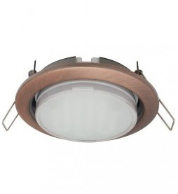 Светильник Ecola GX53 H4 (черная бронза)