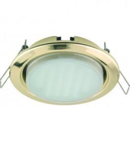 Светильник Ecola GX53 H4 (золото)