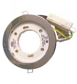 Светильник Ecola GX53 H7 (серебро)