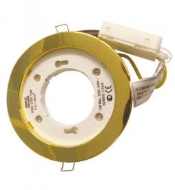 Светильник Ecola GX53 H7 (золото)