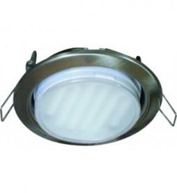 Светильник Ecola GX53 H4 (сатин-хром)