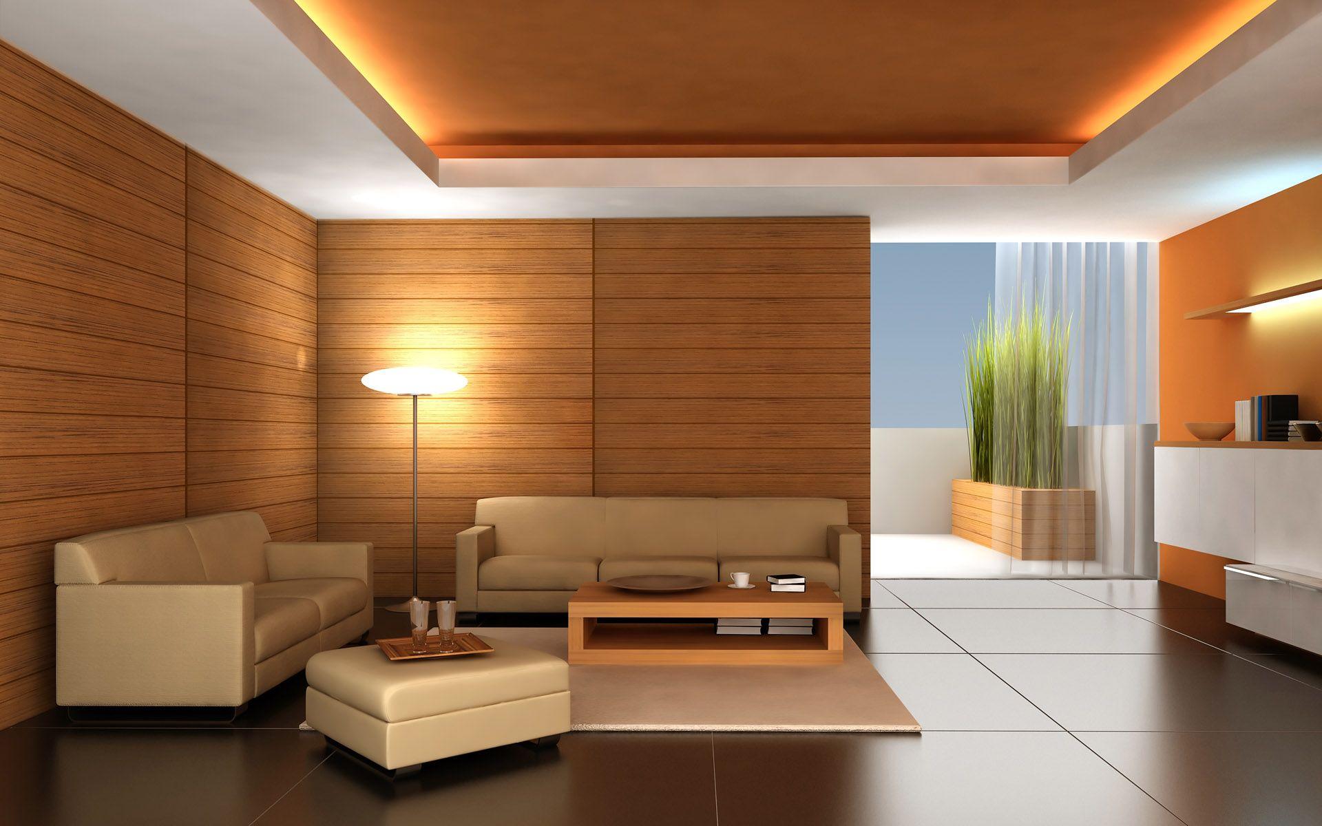 Двухуровневый натяжной потолок, выполненный в ткани немецкой марки Descor белого и оранжевого цвета и светодиодной подсветкой