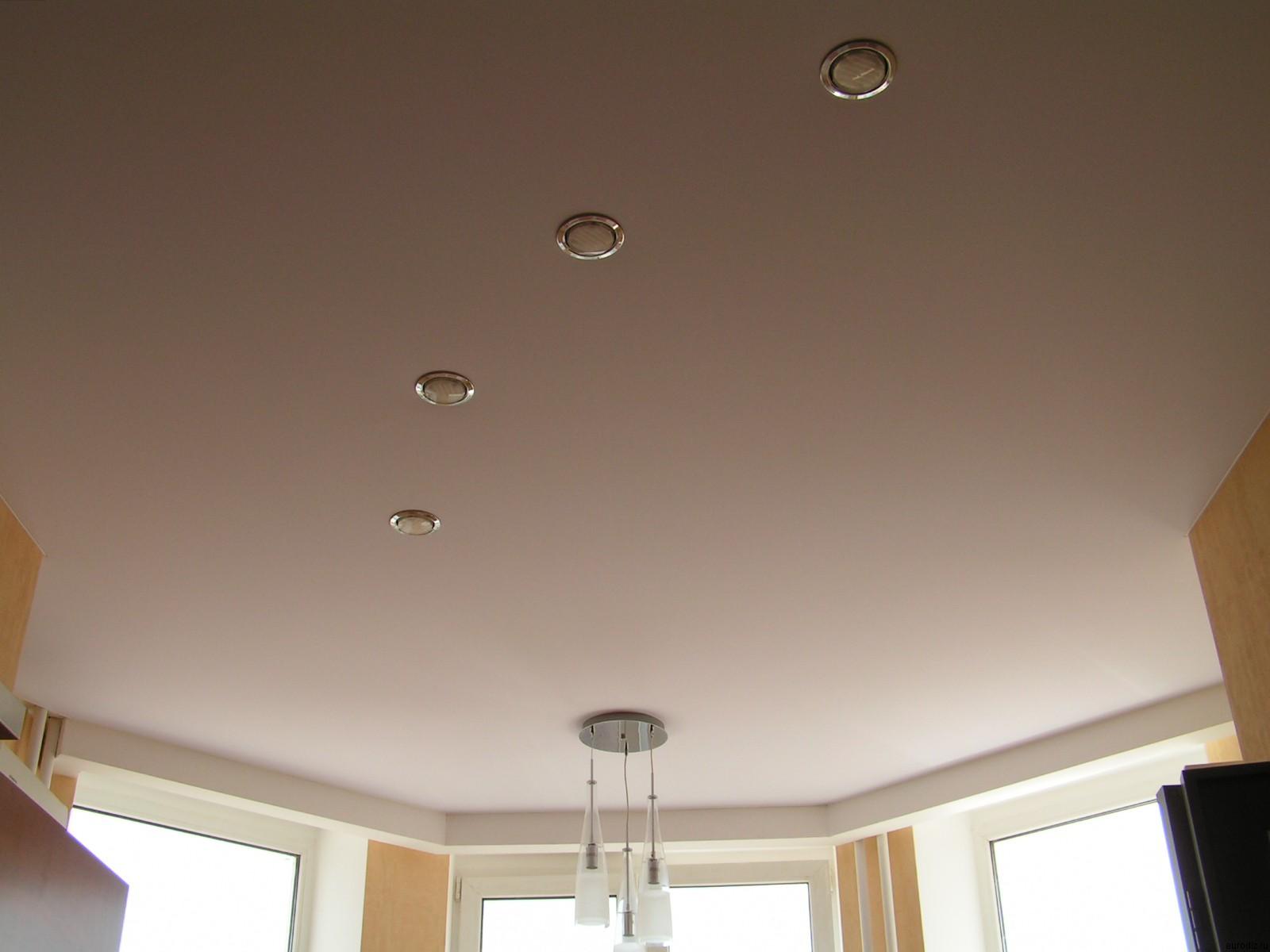 Тканевый натяжной потолок выдерживает высокие перепады температуры