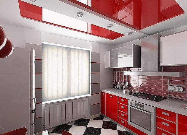 Двухуровневый потолок белых оттенков, изогнутый переход уровня-классика с элементами креатива!