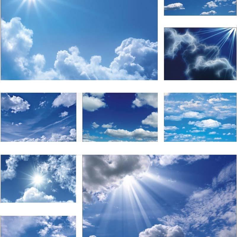 """Для ощущения настоящего """"неба над головой""""вы сможете заказать арт печать в виде неба на ваш натяжной потолок"""