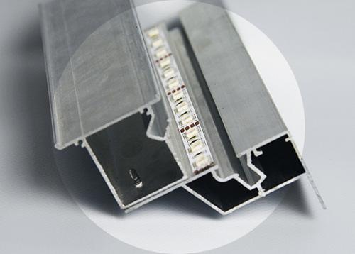 Парящий профиль - основа парящего потолка