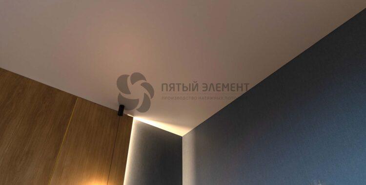 натяжной потолок как гипсокартонный